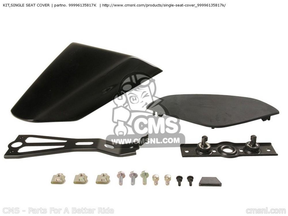 CMS シーエムエス KIT,SINGLE SEAT COVER ZX1000E8F NINJA ZX10R USA