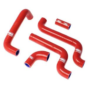 SAMCO SPORT サムコスポーツ ラジエーター関連部品 クーラントホース(ラジエーターホース) カラー:レッド RS 125 2005-2012