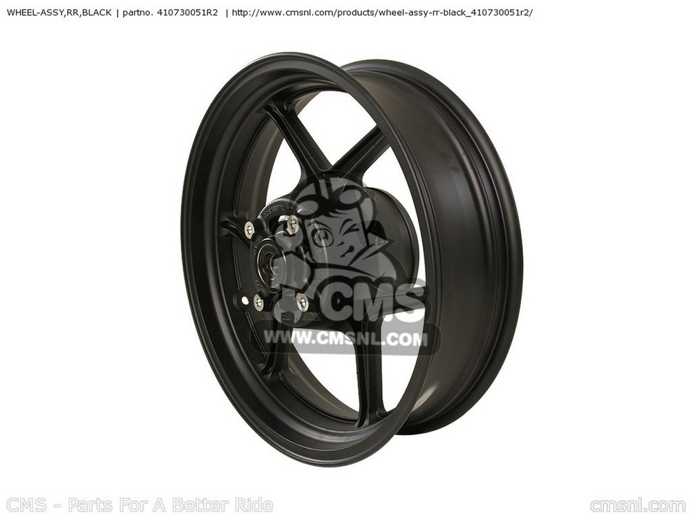 CMS シーエムエス WHEEL-ASSY,RR,BLACK KLE650A9F VERSYS USA KLE650CAF VERSYS USA