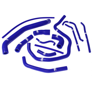 SAMCO SPORT サムコスポーツ ラジエーター関連部品 クーラントホース(ラジエーターホース) カラー:ニンジャグリーンカモ (限定色) YZF 1000 R1 2002-2003