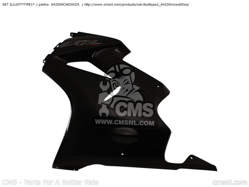 CMS シーエムエス タンク SET ILLUST*TYPE1* VFR800 2002 (2) FRANCE VFR800A 2002 (2) CANADA / ABS VFR800A 2002 (2) ENGLAND / ABS
