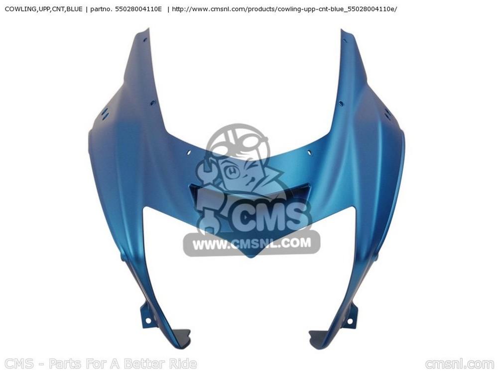 CMS シーエムエス COWLING,UPP,CNT,BLUE ZR750K6F Z750S 2006 USA CALIFORNIA CANADA