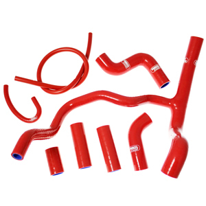 【送料無料】ラジエーター SAMCO SPORT サムコスポーツ APR-8-ICE-WHITE+  SAMCO SPORT サムコスポーツ ラジエーター関連部品 クーラントホース(ラジエーターホース) カラー:アイスホワイト (限定色) V4 1000 Tuono 2011-2015 V4 1100 Tuono 2015-2017