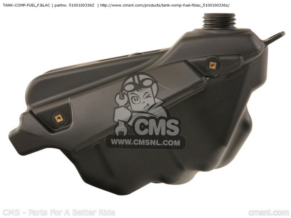 CMS シーエムエス タンク TANK-COMP-FUEL,F.BLAC KX125 M2 KX125 2004 USA CANADA