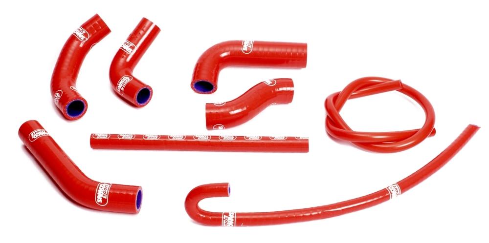 SAMCO SPORT サムコスポーツ ラジエーター関連部品 クーラントホース(ラジエーターホース) カラー:ソーラーオレンジカモ CBR 1000 RR Fireblade OEM Design 2012-2018