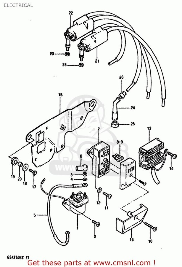 CMS シーエムエス その他電装パーツ (32800-49X50) RECTIFIER, REGULATOR GS1000 1982 (Z) USA (E03)