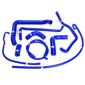 SAMCO SPORT サムコスポーツ ラジエーター関連部品 クーラントホース(ラジエーターホース) カラー:ライトニングブルーカモ (限定色)