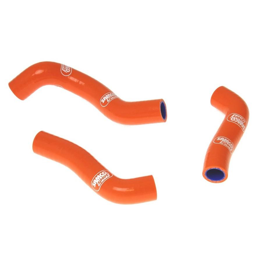 SAMCO SPORT サムコスポーツ ラジエーター関連部品 クーラントホース(ラジエーターホース) カラー:ブレイズ (限定色) 250 SX-F 11-12 250 XC-F 11-12