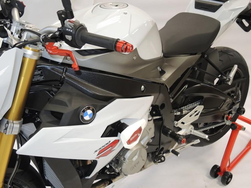 アルマイトカラー:オレンジアルマイト S1000R クラッシュスライダー・ガード スライダーベースカラー:ブラック アールディーモト RDmoto (Crash sliders) ガード・スライダー