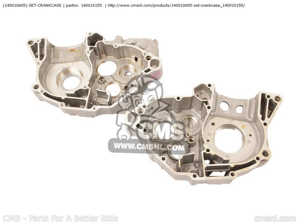 CMS シーエムエス その他エンジンパーツ (140010605) SET-CRANKCASE KX250-YBF KX250F 2011 USA KX250-ZDF KX250F 2013 USA