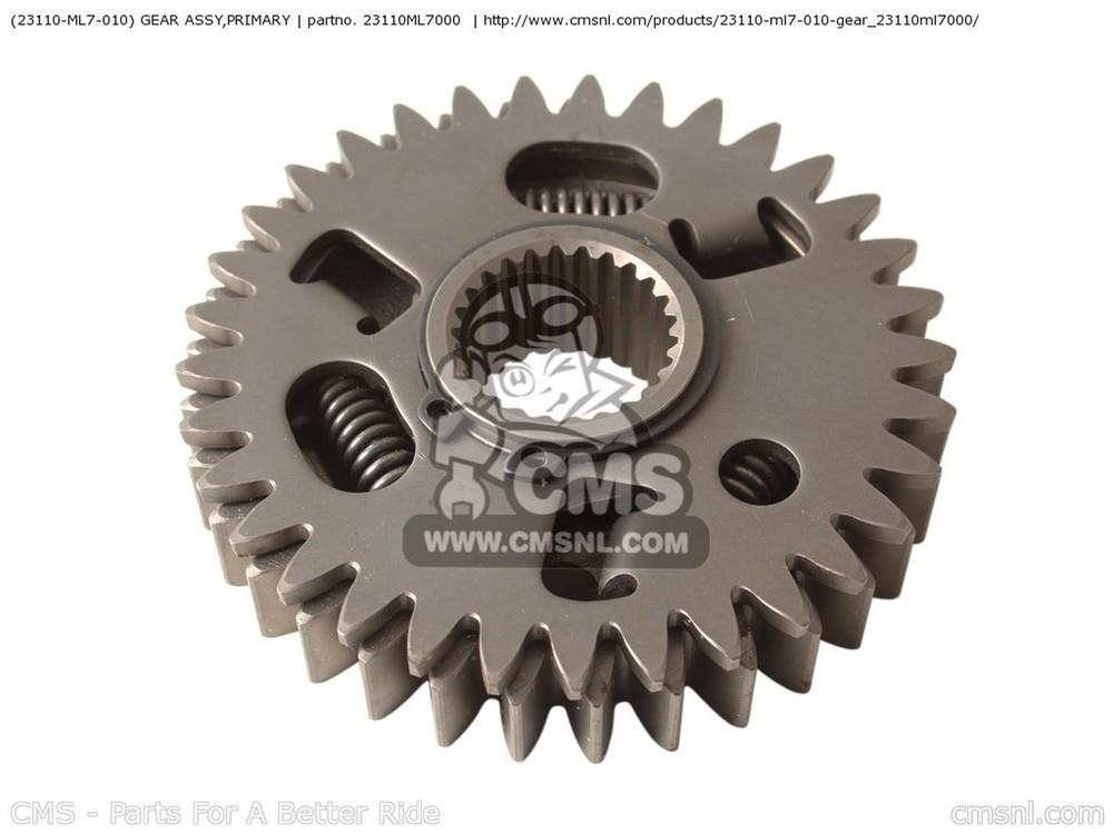 【送料無料】エンジンパーツ VF750C MAGNA 2001 (1) CANADA / REF CMS シーエムエス 23110ML7000  CMS シーエムエス その他エンジンパーツ (23110-ML7-010) GEAR ASSY,PRIMARY VF750C MAGNA 2001 (1) CANADA / REF