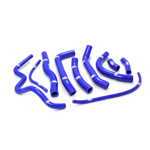 SAMCO SPORT サムコスポーツ ラジエーター関連部品 クーラントホース(ラジエーターホース) カラー:ニンジャグリーンカモ (限定色) VFR 800 1998-2001
