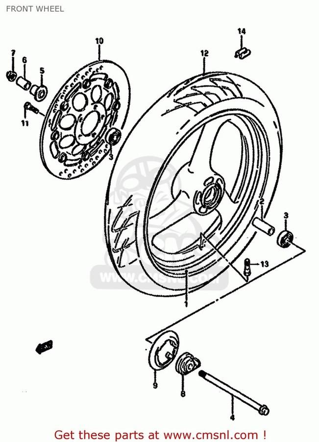 CMS シーエムエス ディスクローター (59210-01D11) DISC,BRAKE