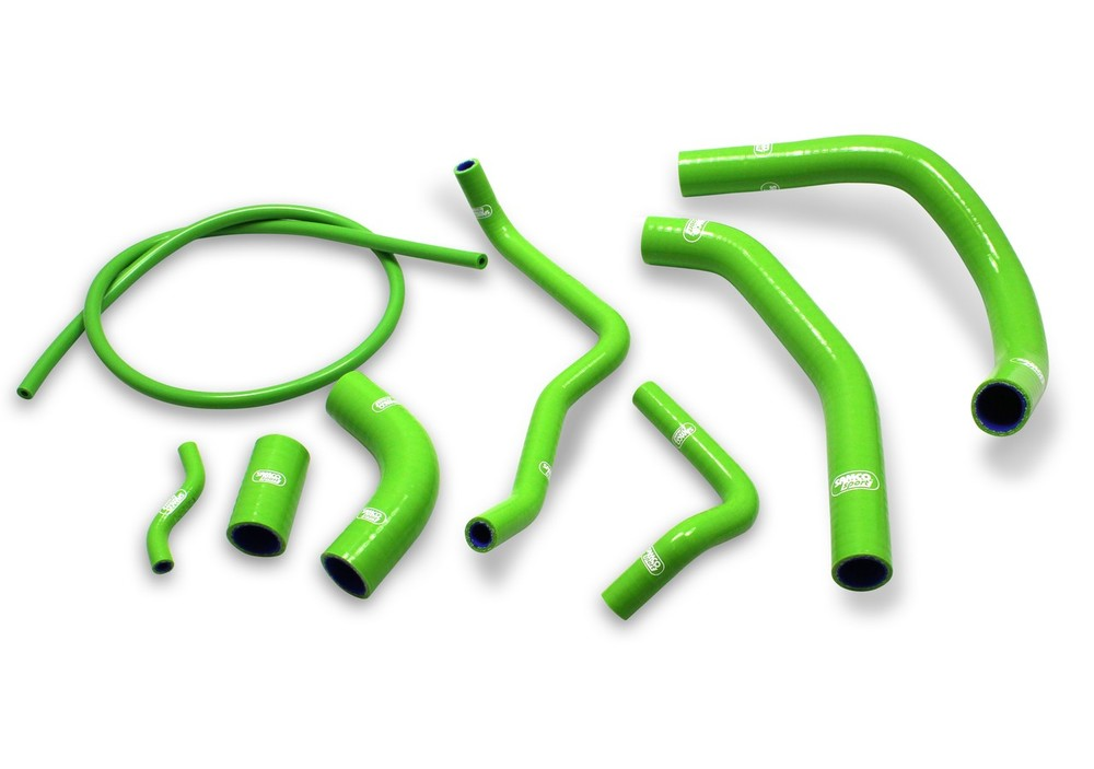 SAMCO SPORT サムコスポーツ ラジエーター関連部品 クーラントホース(ラジエーターホース) カラー:ガンメタルグレー (限定色) KLX 250 1998-2003