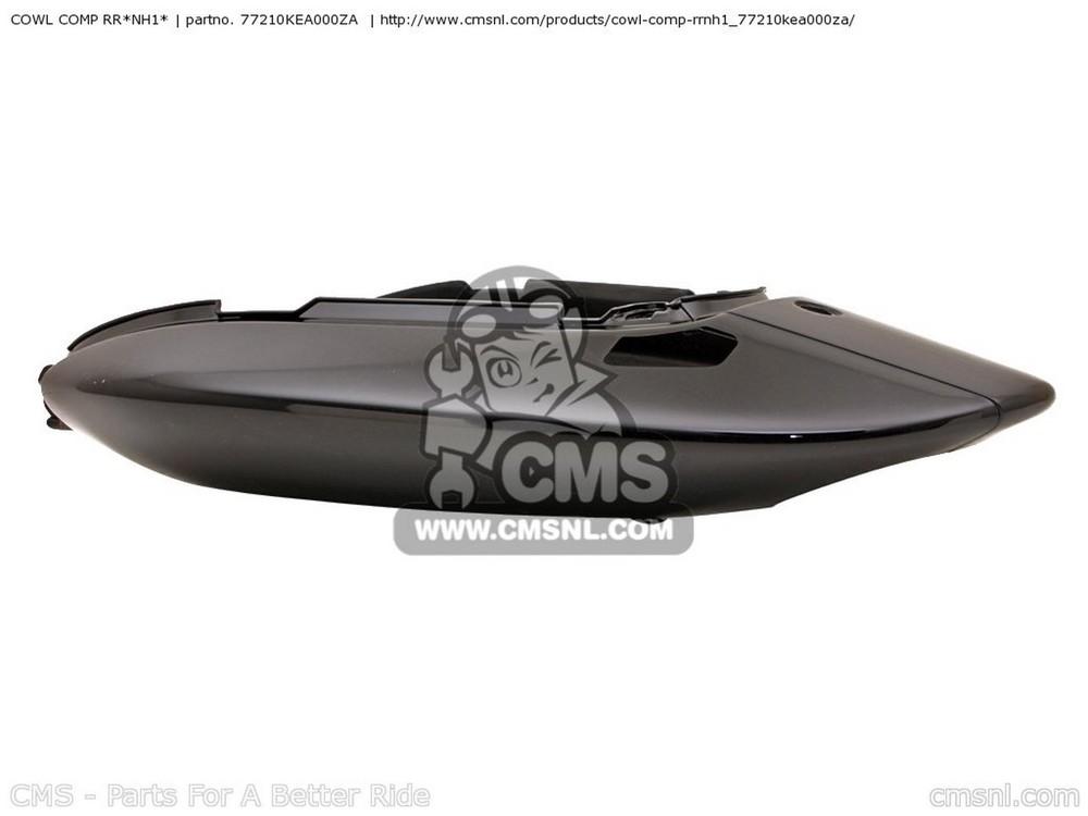 CMS シーエムエス COWL COMP RR*NH1* CB600F HORNET 2001 (1) EUROPEAN DIRECT SALES / KPH CB600F2 HORNET (Y) NETHERLANDS / HC KPH CB600F2 HORNET (1) FRANCE / KPH 34P
