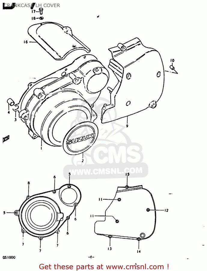 CMS シーエムエス エンジンカバー (11351-49002) COVER