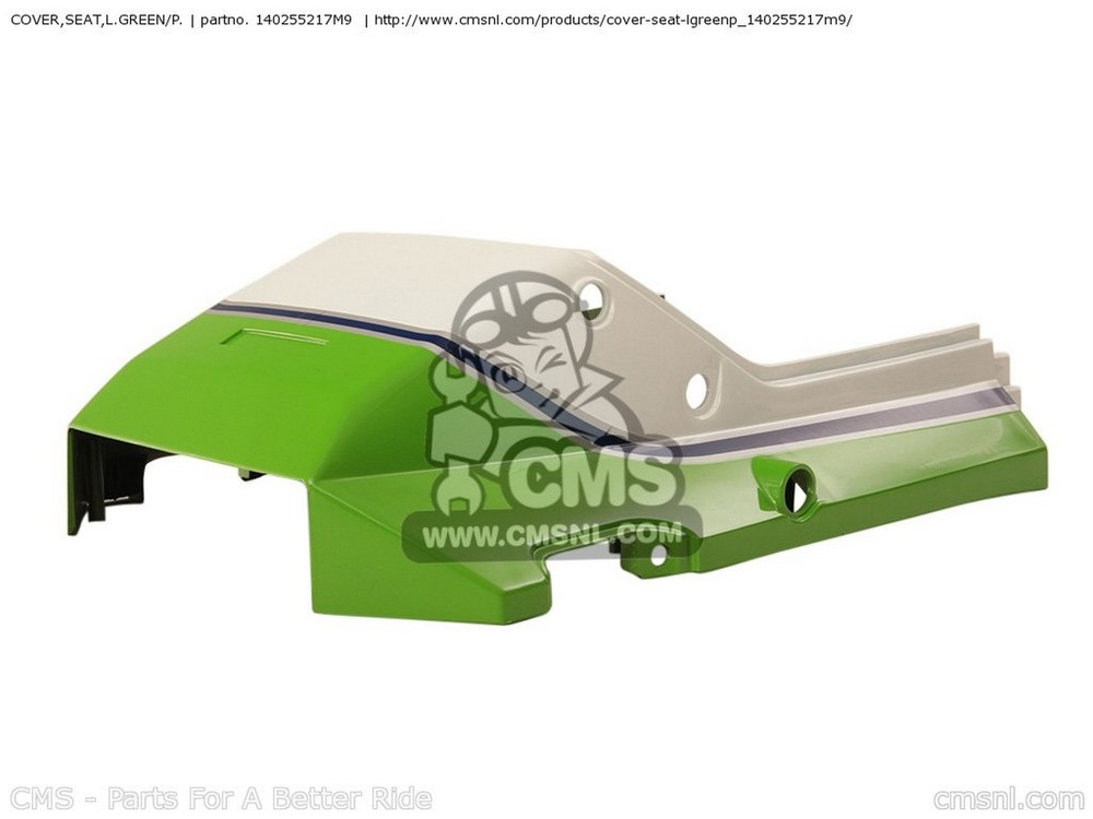 CMS シーエムエス COVER,SEAT,L.GREEN/P. ZX750G3 1986 EUROPE (UK/GK/GR/SD/ST/WG)