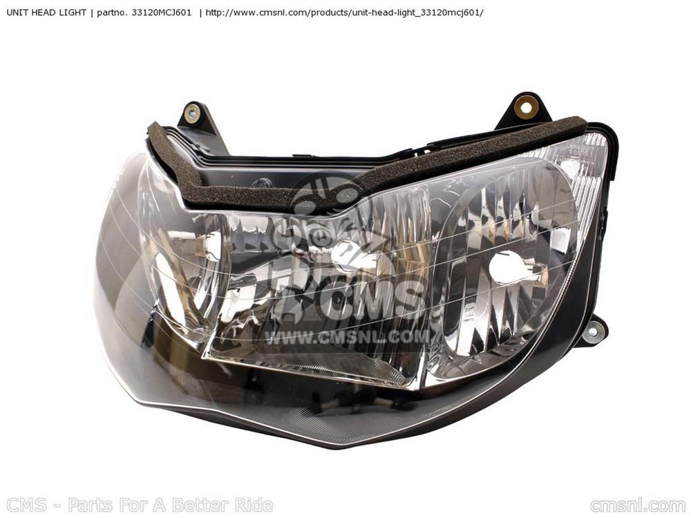 CMS シーエムエス ヘッドライト本体・ライトリム/ケース UNIT HEAD LIGHT CBR900RR FIREBLADE 2001 (1) ENGLAND