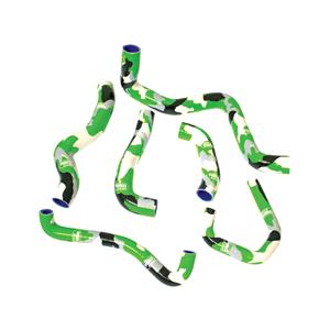 SAMCO SPORT サムコスポーツ ラジエーター関連部品 クーラントホース(ラジエーターホース) カラー:ダークグリーン (限定色) ZX-6R 2009-2017