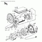 CMS シーエムエス その他エンジンパーツ スターターモーターギア (Starter Motor Gear) KZ900