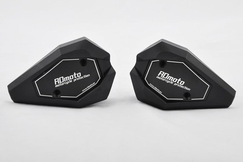 RDmoto アールディーモト ガード・スライダー クラッシュスライダー【Crash sliders】 アルマイトカラー:black aluminium anodized スライダーベースカラー:black Z900 2017-