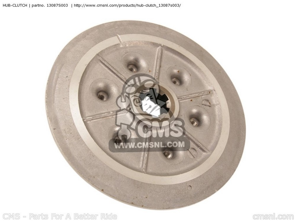 CMS シーエムエス HUB-CLUTCH KSF400-A1 KFX400 2003 USA KSF400-A2 KFX400 2004 USA