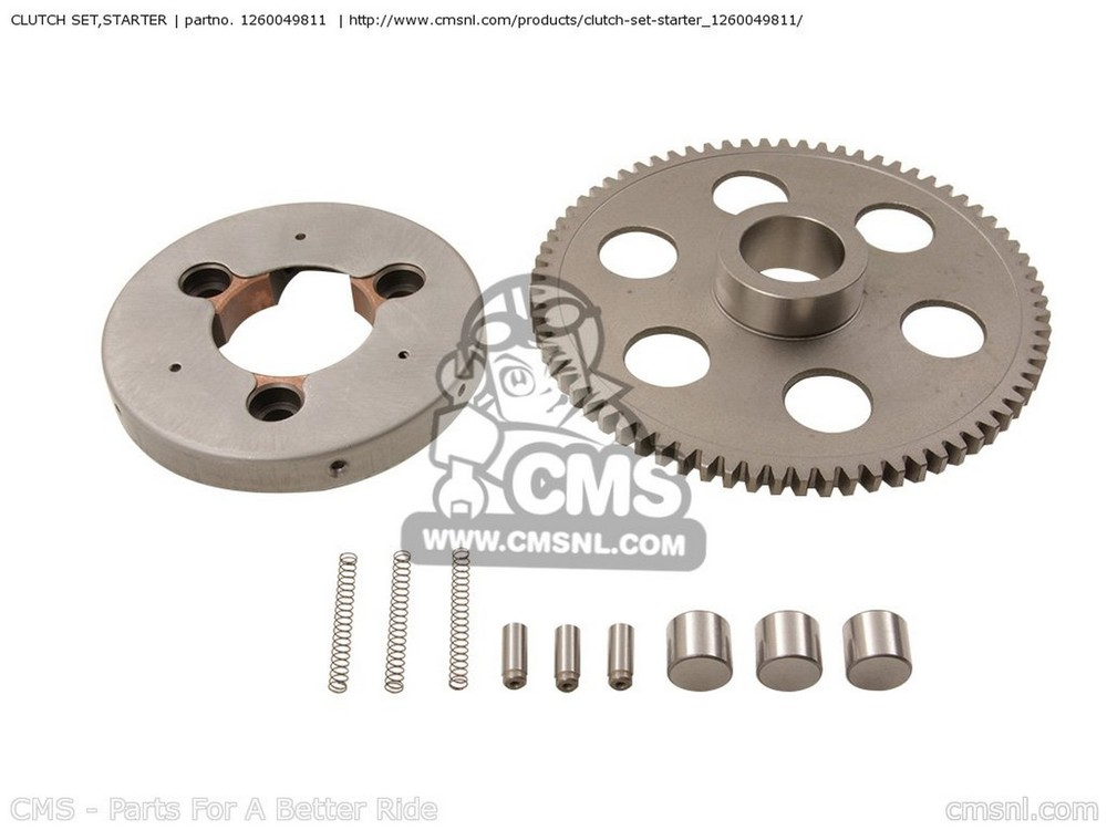 CMS シーエムエス その他エンジンパーツ CLUTCH SET,STARTER GS1000L 1979 (N) USA (E03) GS1000S 1979 (N) USA (E03)