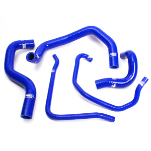 SAMCO SPORT サムコスポーツ ラジエーター関連部品 クーラントホース(ラジエーターホース) カラー:ニンジャグリーンカモ (限定色) ZX-6R 600 636 B1&B2 2003-2004