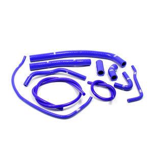 SAMCO SPORT サムコスポーツ ラジエーター関連部品 クーラントホース(ラジエーターホース) カラー:メタリックシルバー (限定色) TMax 500 2001-2011 TMax 530 2012-2015