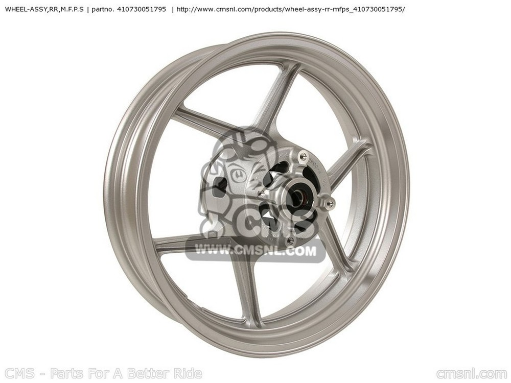 CMS シーエムエス WHEEL-ASSY,RR,M.F.P.S KLE650A8F VERSYS USA KLE650A9F VERSYS USA