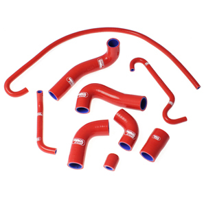 SAMCO SPORT サムコスポーツ ラジエーター関連部品 クーラントホース(ラジエーターホース) カラー:ソーラーオレンジカモ (限定色) F4 1000 2010-2017