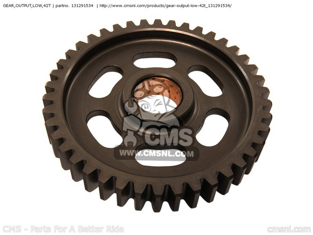 CMS シーエムエス ミッション GEAR,OUTPUT LOW,42T ZX750G3 1986 EUROPE (UK/GK/GR/SD/ST/WG)