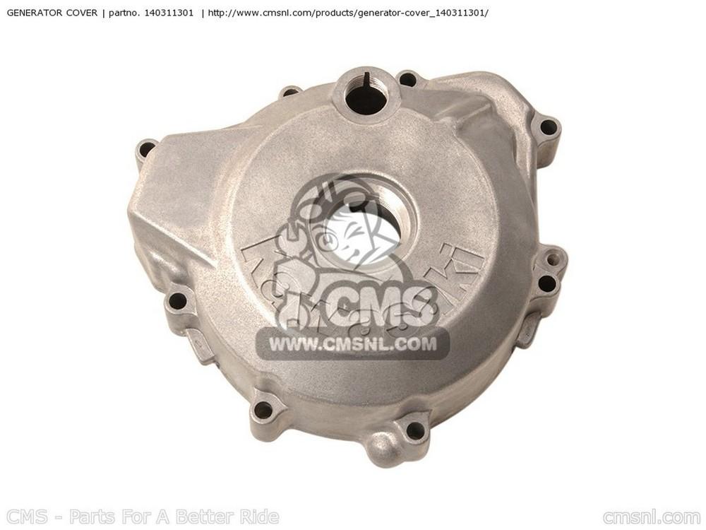 CMS シーエムエス エンジンカバー COVER-GENERATOR KLX300A8 KLX300R 2003 USA CALIFORNIA CANADA