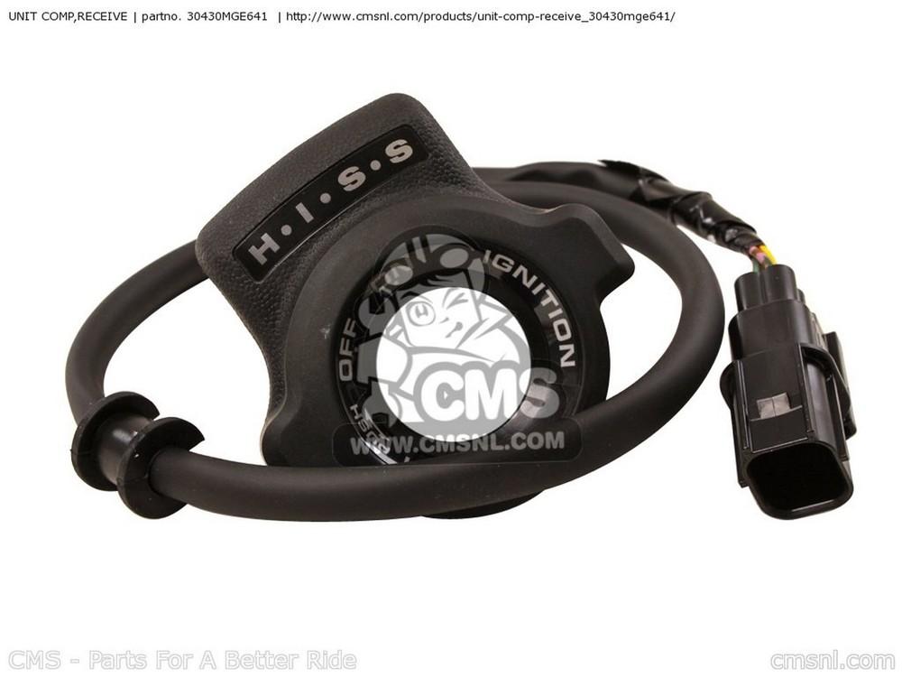 CMS シーエムエス (30430-MGE-642) UNIT COMP,RECEIVE
