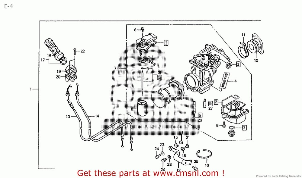 CMS シーエムエス キャブレター CARBURATOR KIT CB50V RACE DREAM50 HRC