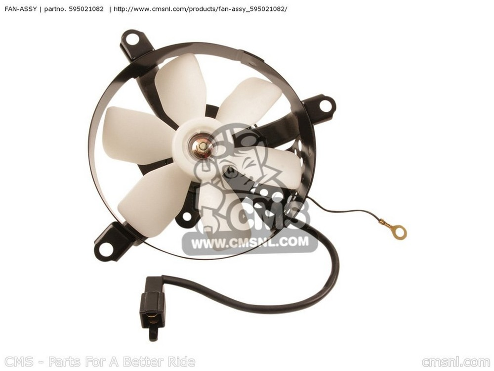 CMS シーエムエス FAN-ASSY KL650A17 KLR650 2003 USA CALIFORNIA CANADA