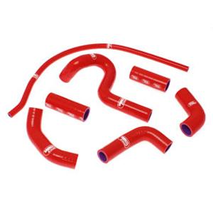 SAMCO SPORT サムコスポーツ ラジエーター関連部品 クーラントホース(ラジエーターホース) カラー:レッド 749 S 2003-2007 999 S 2003-2004