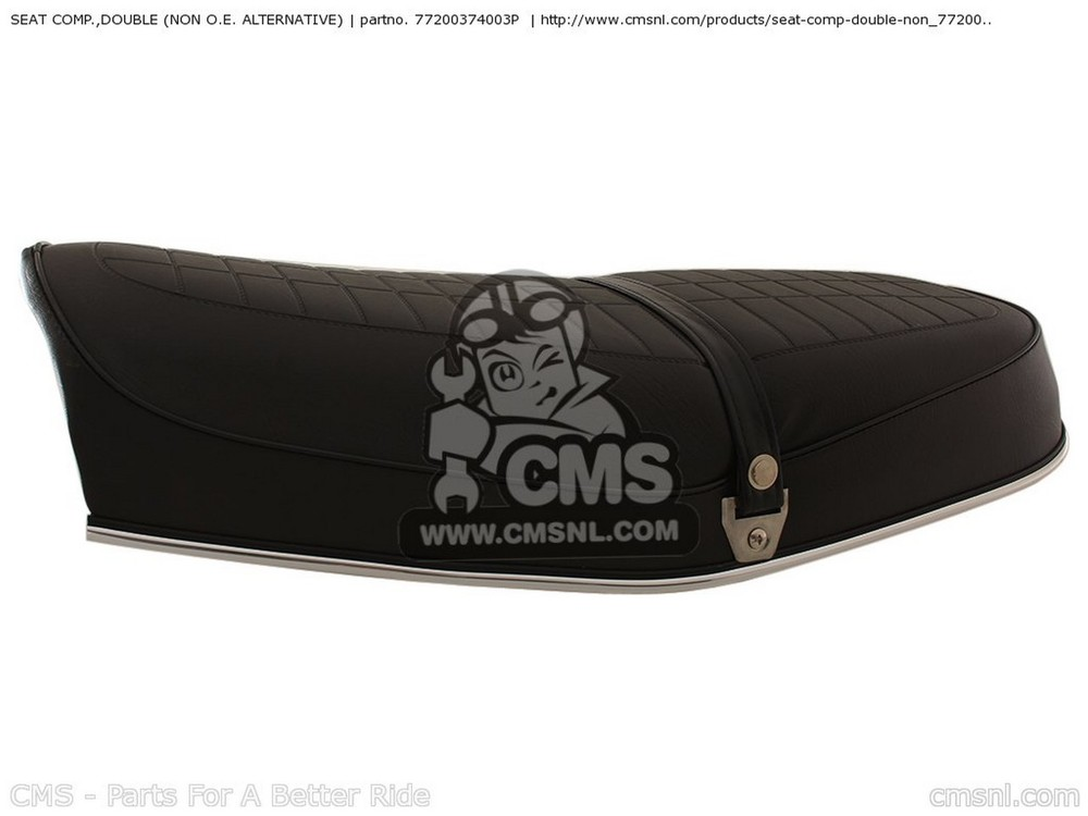 CMS シーエムエス シート本体 SEAT COMP.,DOUBLE (NON O.E. ALTERNATIVE)