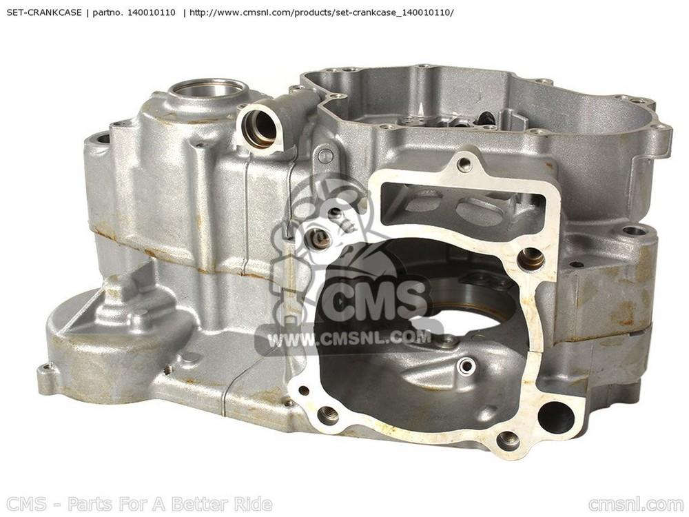 CMS シーエムエス その他エンジンパーツ SET-CRANKCASE KX450-D8F KX450F 2008 USA
