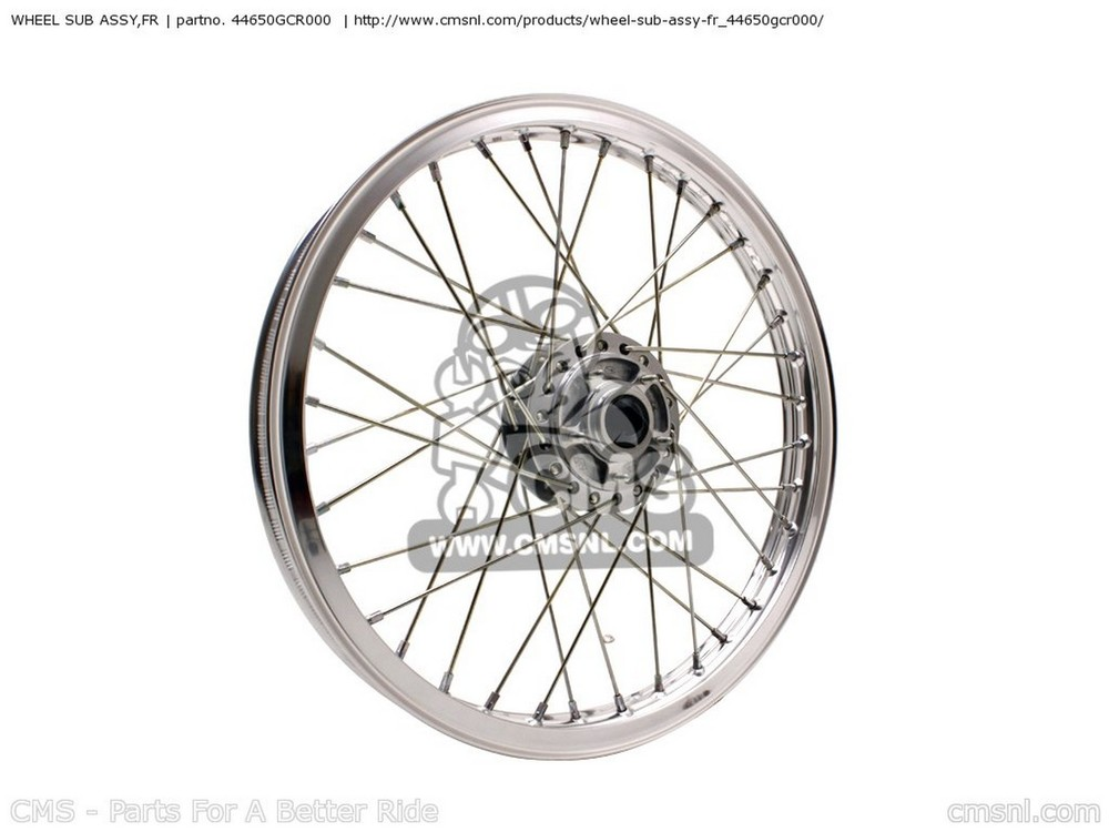 CMS シーエムエス ホイール本体 WHEEL SUB ASSY,FR CB50V DREAM JAPAN (11GCRVJ3) CB50W DREAM JAPAN (11GCRVJ3)