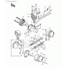 CMS シーエムエス ウインカー ターンシグナルランプアセンブリ (Turn Signal Lamp Assembly) KZ900