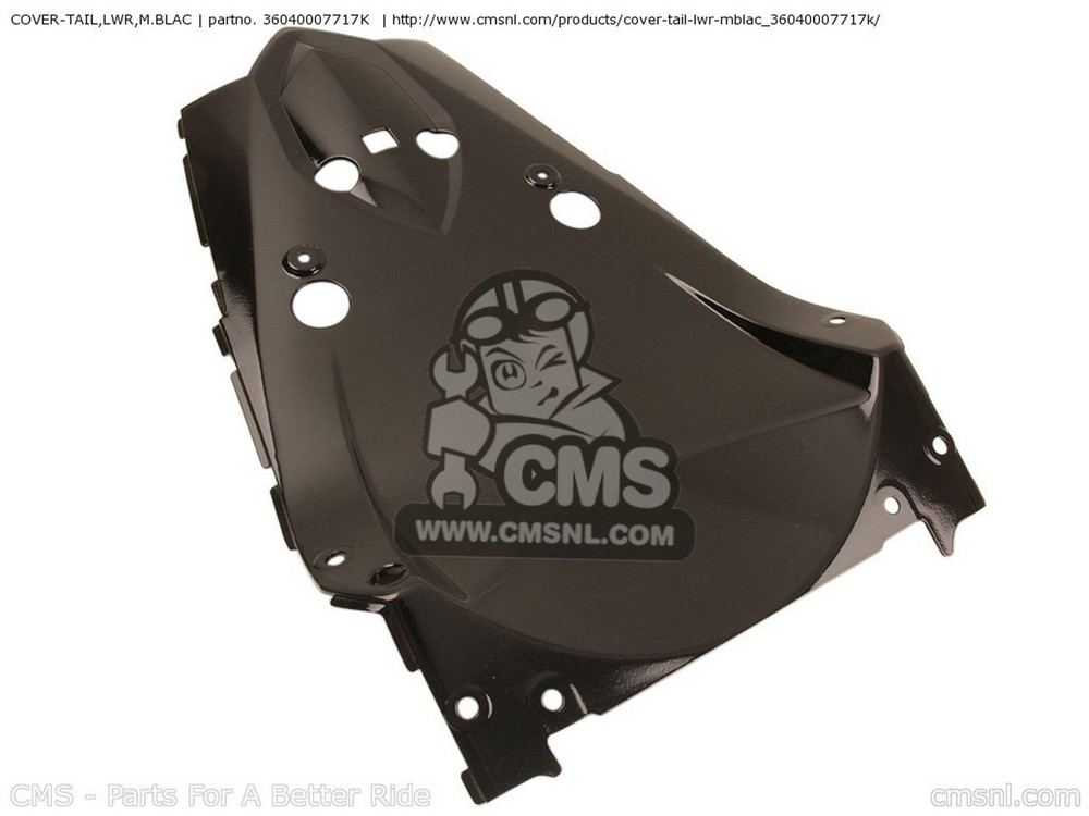 CMS シーエムエス COVER-TAIL,LWR,M.BLAC ZR1000B7F Z1000 USA