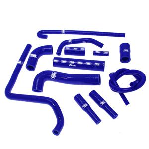 SAMCO SPORT サムコスポーツ ラジエーター関連部品 クーラントホース(ラジエーターホース) カラー:ニンジャグリーンカモ (限定色) F4 1000 2001-2009