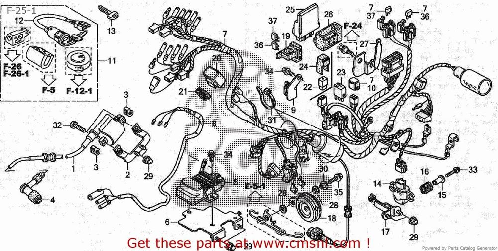 CMS シーエムエス インジェクション関連 38770GBJM43 C50CM C50D C50S (8) JAPAN AA01-170 (JDM)