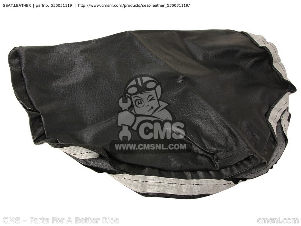 CMS シーエムエス その他シートパーツ LEATHER,SEAT ZX750G3 1986 EUROPE (UK/GK/GR/SD/ST/WG)