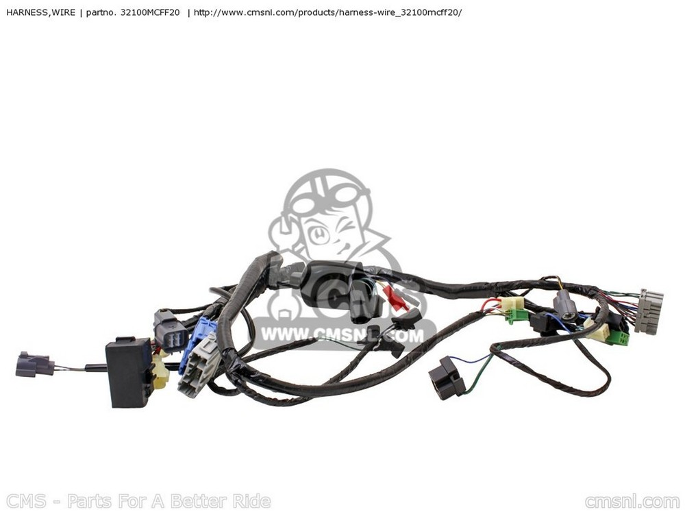 CMS シーエムエス HARNESS,WIRE VTR1000SP FIRESTORM (2) FRANCE / 100