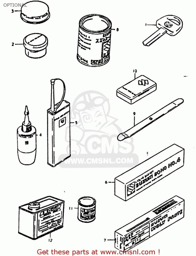 CMS シーエムエス ガスケット (11402-49824) GASKET SET