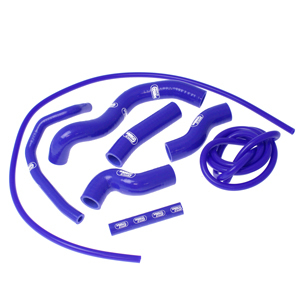 SAMCO SPORT サムコスポーツ ラジエーター関連部品 クーラントホース(ラジエーターホース) カラー:ライトニングブルーカモ (限定色) Z 1000 2007-2009