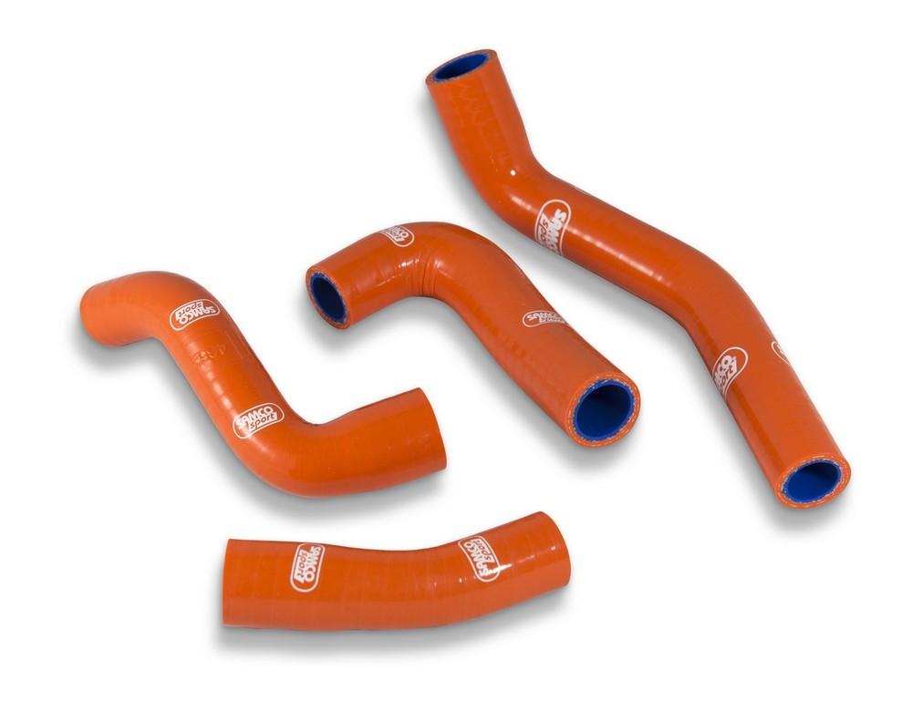 SAMCO SPORT サムコスポーツ ラジエーター関連部品 クーラントホース(ラジエーターホース) カラー:ニンジャグリーンカモ (限定色) 125 Duke 2014-2017 125 RC 2014-2017