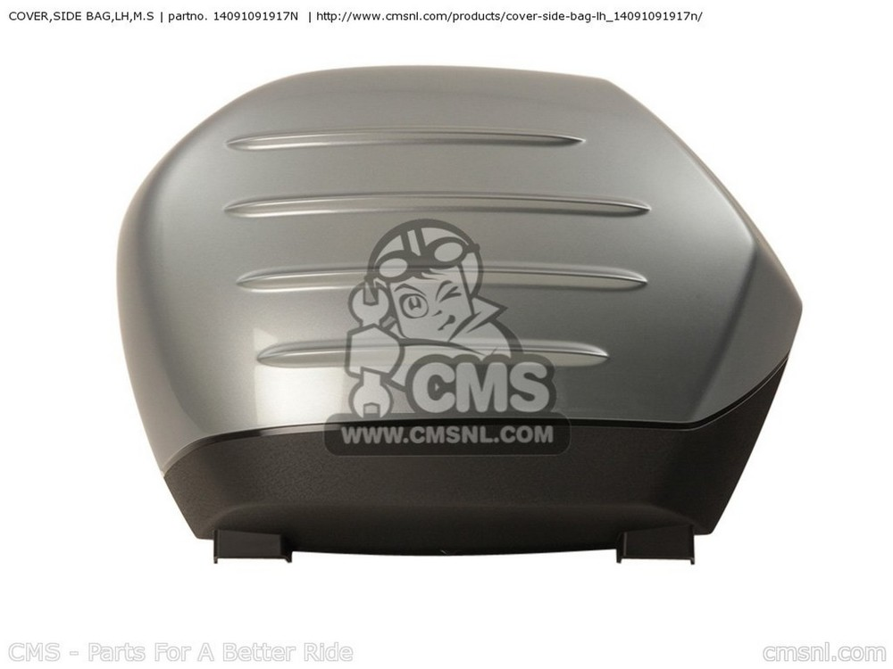 CMS シーエムエス COVER,SIDE BAG,LH,M.S ZG1400A8F CONCOURS 14 USA / ABS ZG1400B8F CONCOURS 14 USA